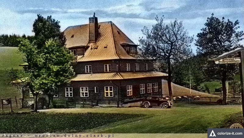 Schronisko Andrzejówka - po koloryzacji