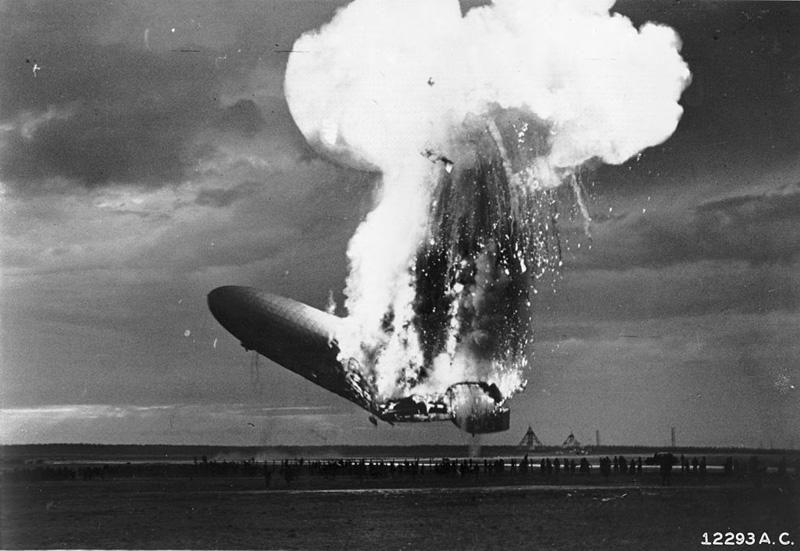 Katastrofa sterowca Hindenburg
