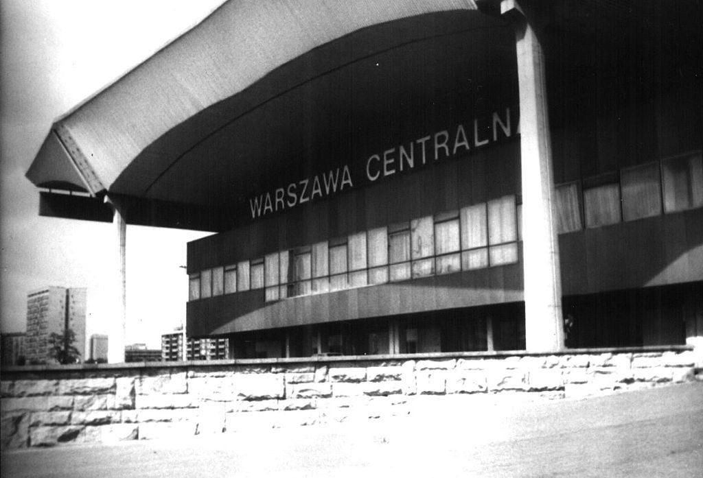 Warszawa Centralna w 1970 roku - Polskie Koleje Państwowe