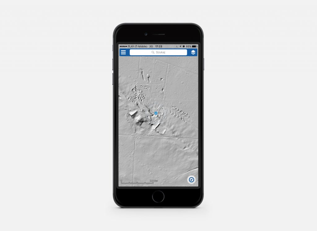Zrzut ekranu podczas eksplorowania poradzieckich bunkrów - Odkrywaj zaginione miejsca ze swoim smartfonem