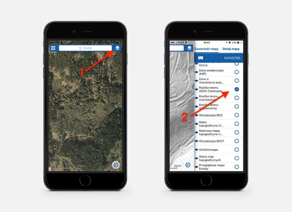 Jak włączyć mapy LIDAR na smartfonie?