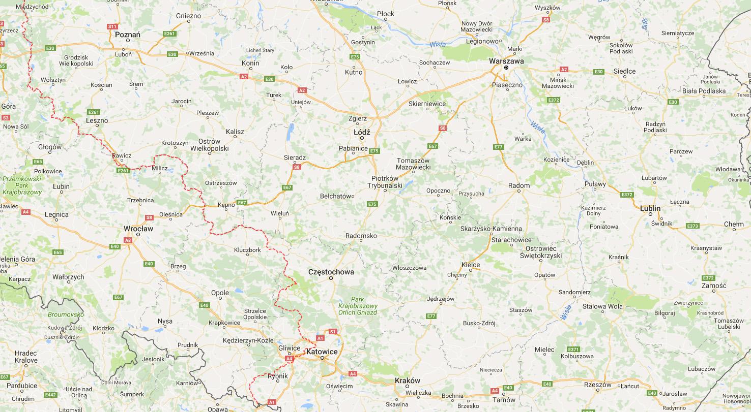 Interaktywna Mapa Przedwojennych Granic Ii Rzeczypospolitej Eloblog
