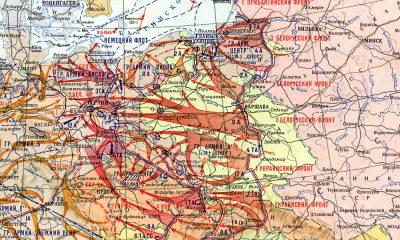 sowiecka mapa