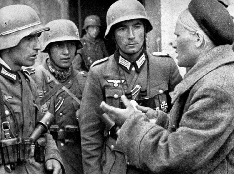 Żołnierze Wehrmachtu popularnie nazywani byli szkopami