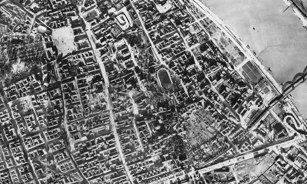 Przedwojenna Warszawa Na Zdjeciach Lotniczych Z 1935 Roku Eloblog