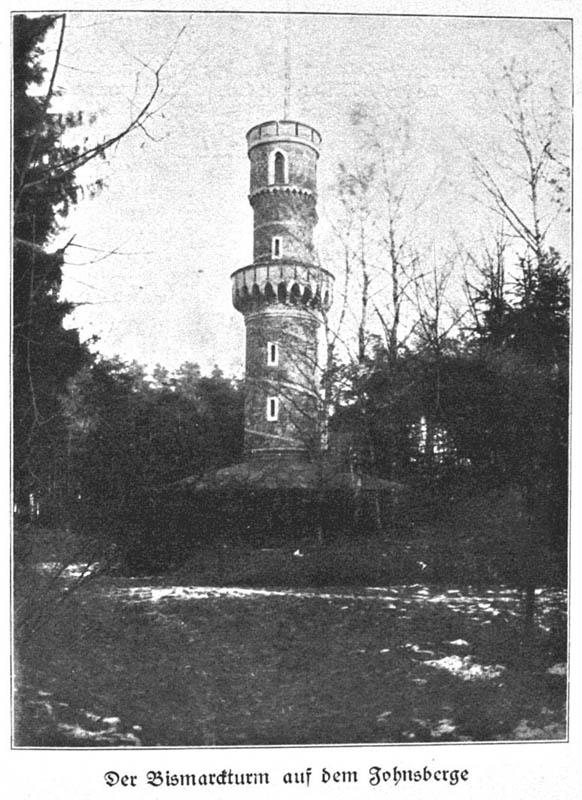 Tak wyglądała wieża na Jańskiej Górze zanim popadła w zapomnienie - Źródło: dolny-slask.org.pl