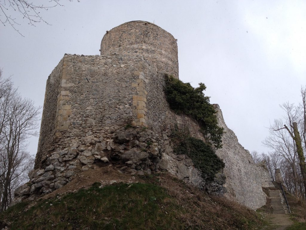 Zamek we Wleniu współcześnie