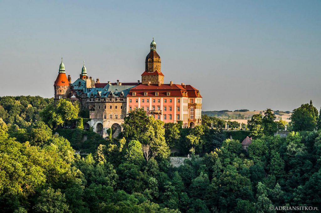Zamek Książ utracił swoje cechy obronne i stał się rezydencją mieszkalną - Foto: Adrian Sitko