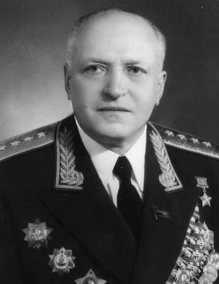Gen. płk Kuźma Galicki - Dowódca PGW (1955-1958)