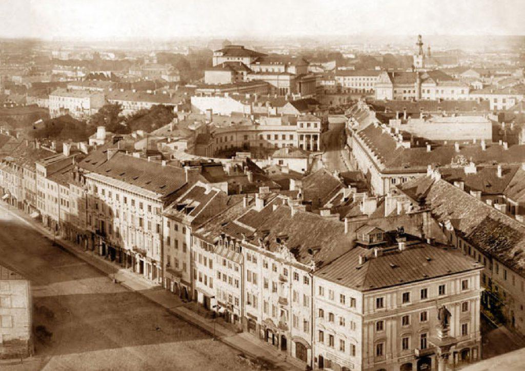 Krakowskie Przedmieście i ulica Senatorska