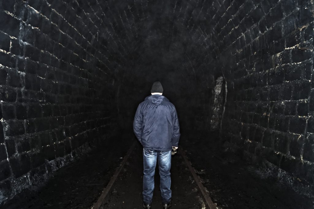 Tunel kolejowy pod Przełęczą Kowarską