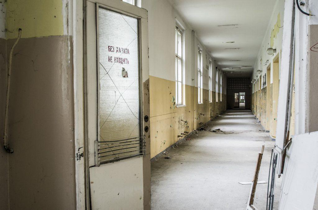 Szpital jest ogromny, żeby go zwiedzić potrzeba kilka godzin chodzenia - Foto: Adrian Sitko