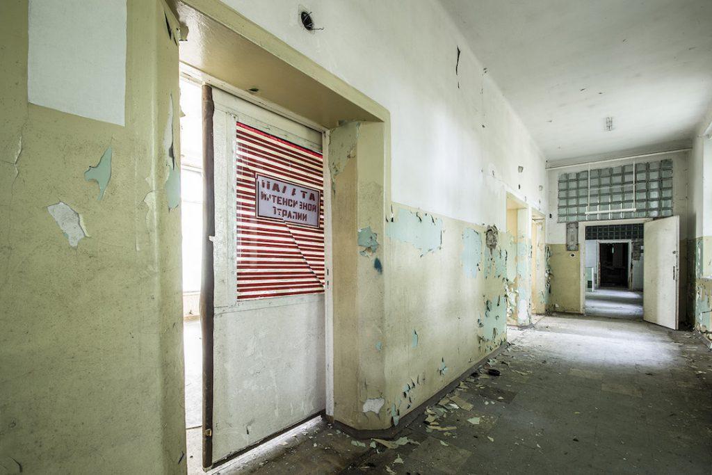 Pomieszczenia dla szpitalnego personelu - Foto: Adrian Sitko