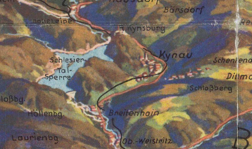 Styk Gór Sowich i Wałbrzyskich - Zagórze Śląskie, Jezioro Bystrzyckie i Zamek Grodno