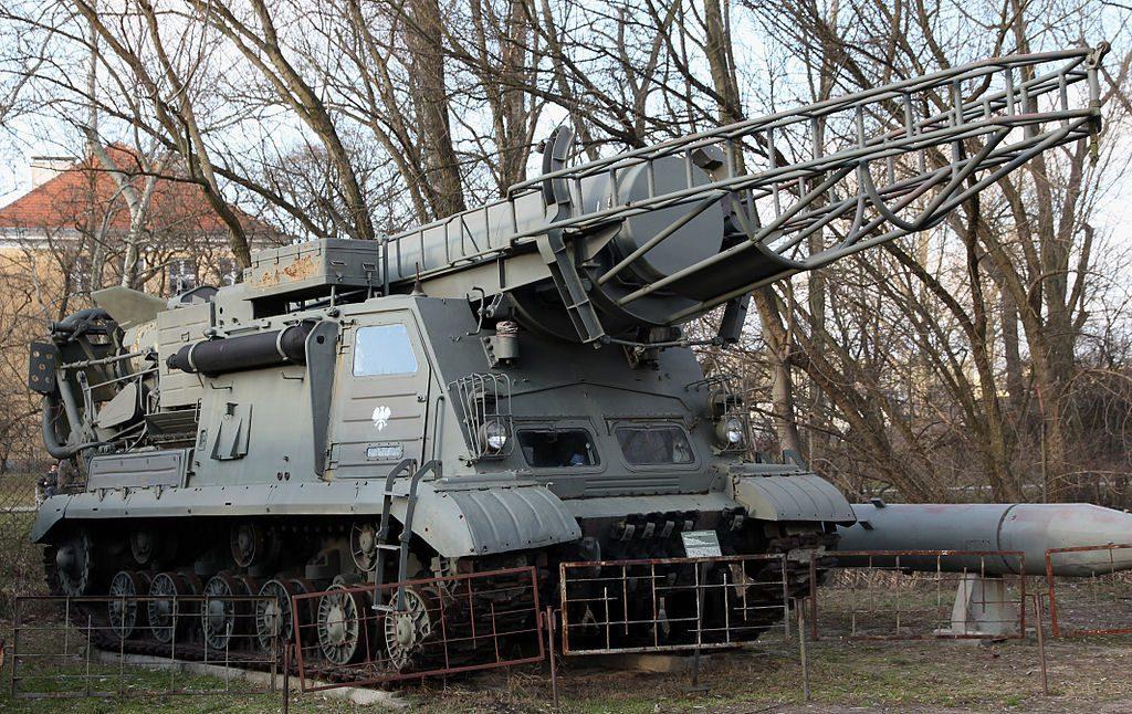 """Zestaw 9K51 """"Scud-A"""" - Źródło commons.wikimedia.org Foto: Grzech58"""