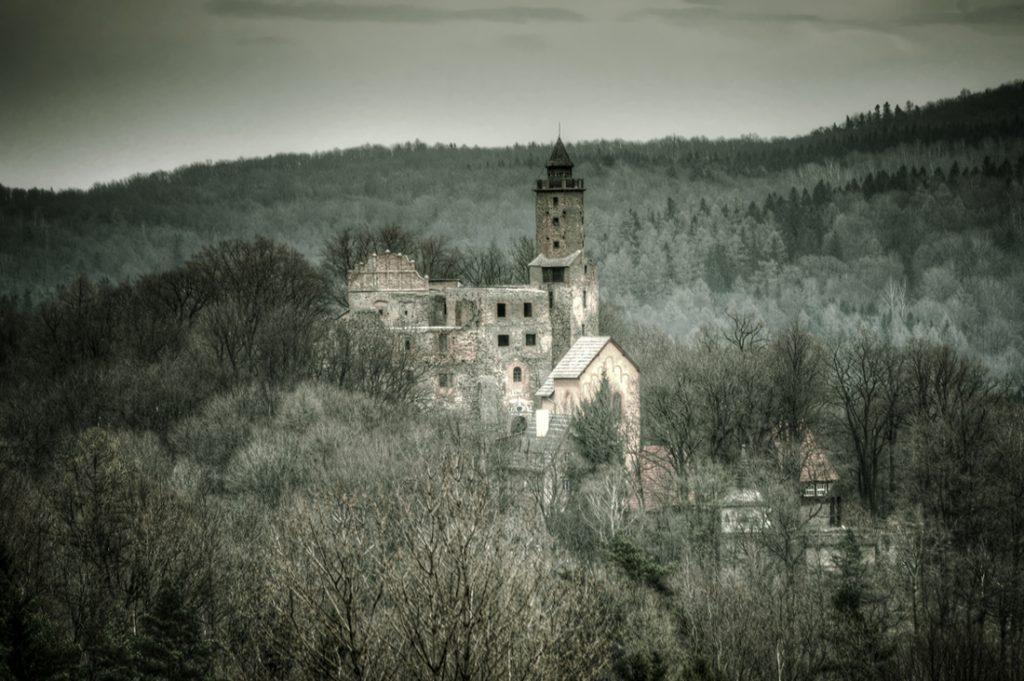 Współczesny widok na Zamek Grodno