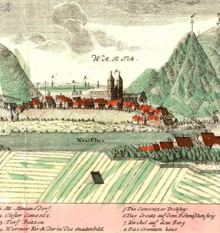 Bardo (Warta) - Rok 1738