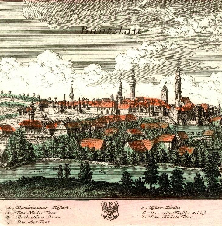 Bolesławiec (Buntzlau) - Rok 1739