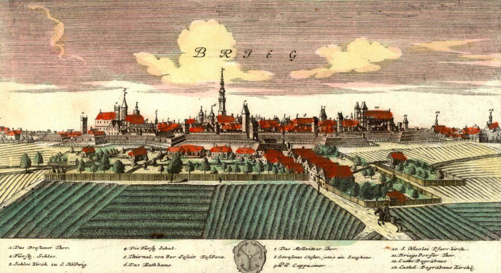 Brzeg (Brieg) - Rok 1737