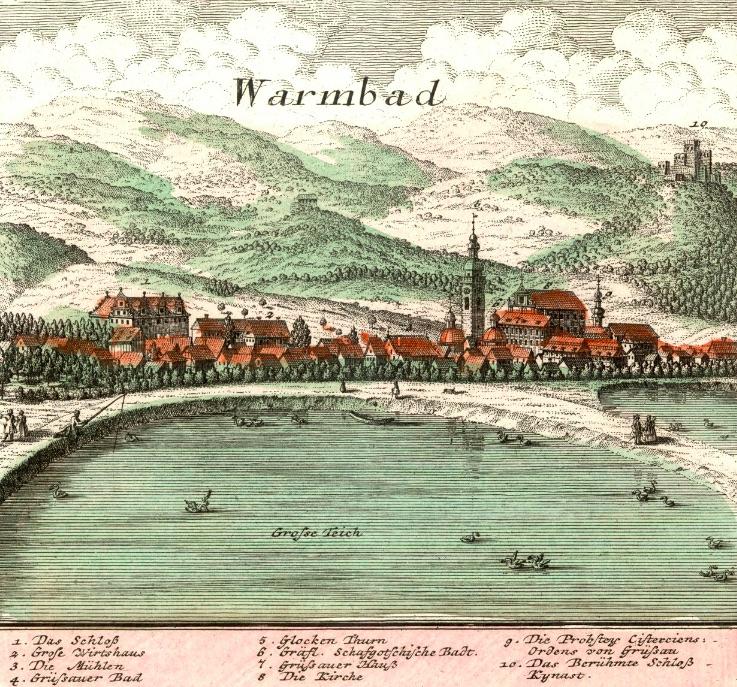 Cieplice Śląskie-Zdrój (Warmbad) - Rok 1739