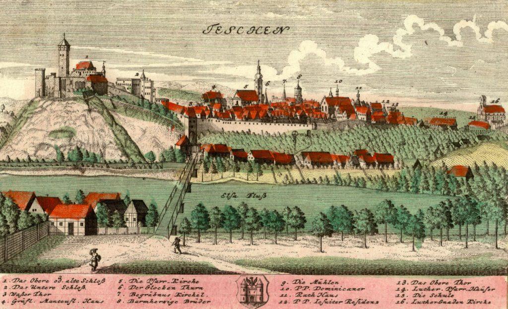 Cieszyn (Teschen) - Rok 1738