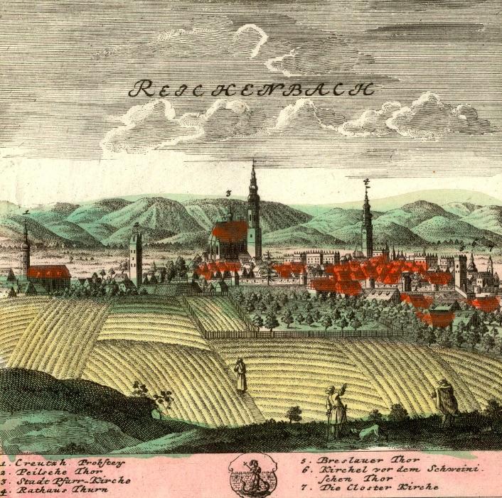 Dzierżoniów (Reichenbach) - Rok 1738