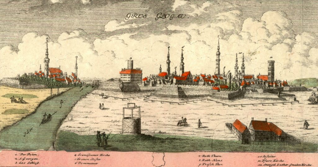 Głogów (Glogau) - Rok 1739