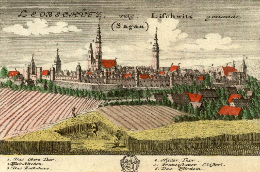Głubczyce (Leobschütz) - Rok 1737