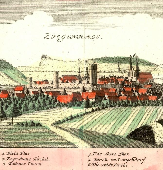 Głuchołazy (Ziegenhals) - Rok 1738