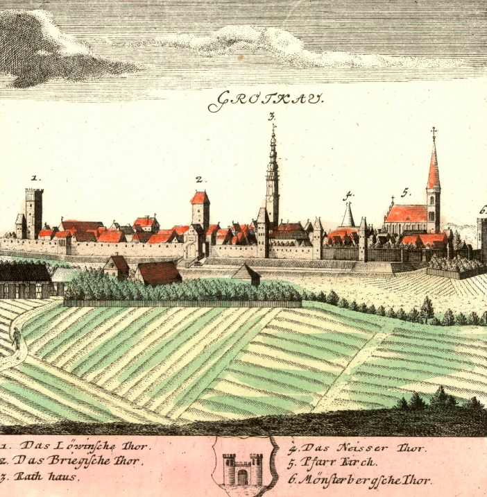 Grodków (Grotkau) - Rok 1738