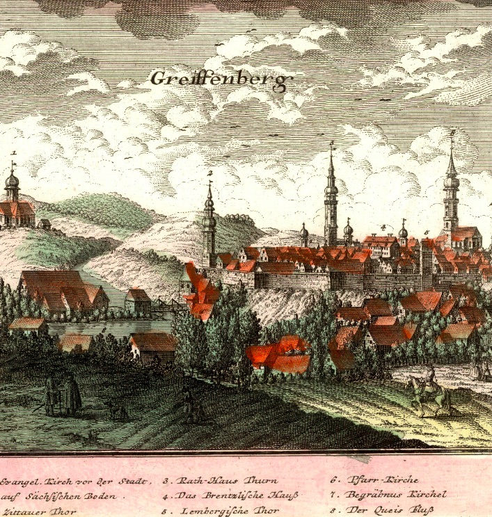 Gryfów Śląski (Greiffenberg) - Rok 1739
