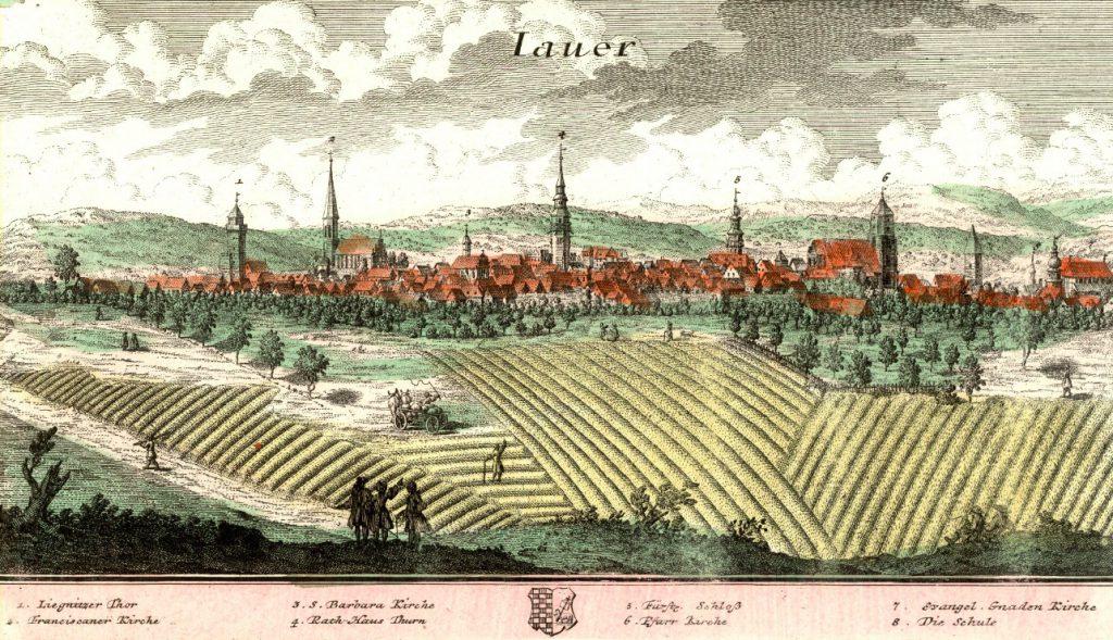 Jawor (Jauer) - Rok 1739