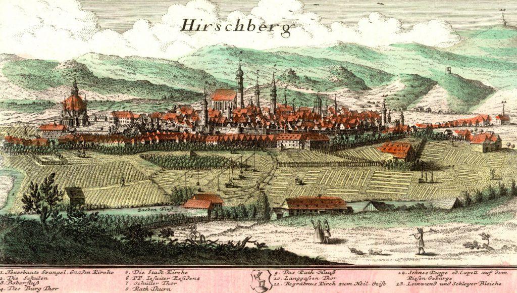 Jelenia Góra (Hirschberg) - Rok 1739