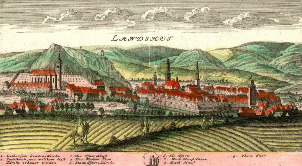 Kamienna Góra (Landeshut) - Rok 1738