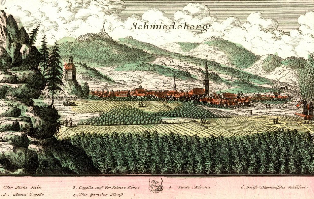 Kowary (Schmiedeberg) - Rok 1739