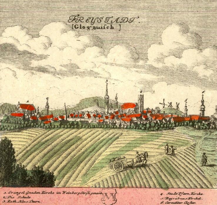Kożuchów (Freystad) - Rok 1739