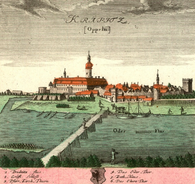 Krapkowice (Krapitz) - Rok 1739