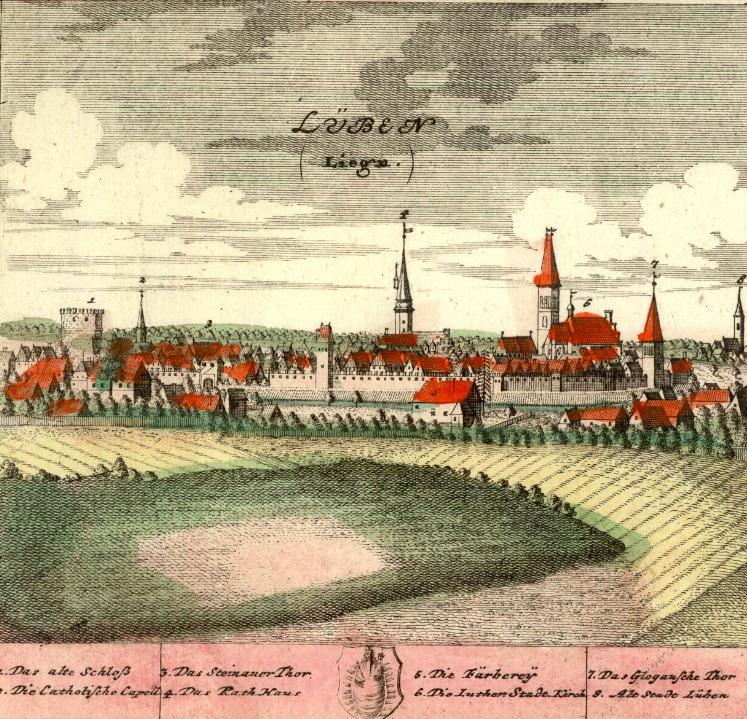 Lubin (Lüben) - Rok 1738