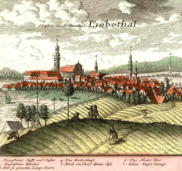 Lubomierz (Liebethal) - Rok 1739