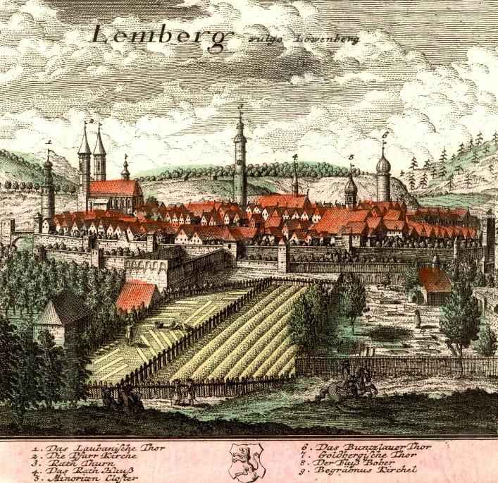 Lwówek Śląski (Lemberg) - Rok 1739