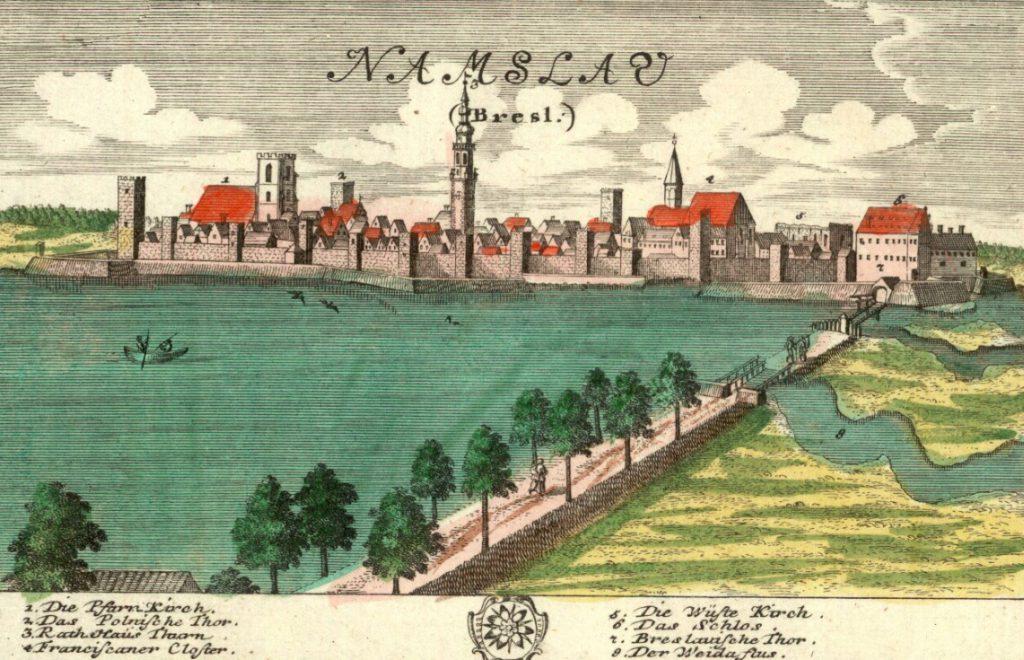 Namysłów (Namslau) - Rok 1737