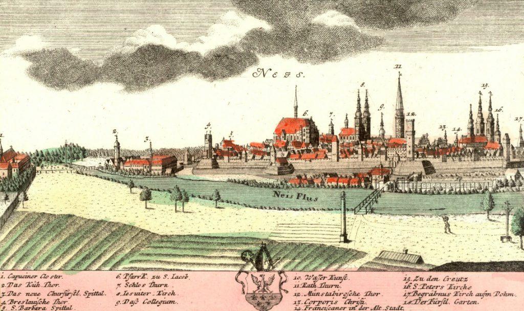 Nysa (Neis) - Rok 1738