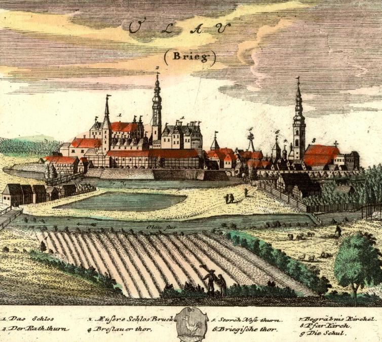 Oława (Olau) - Rok 1737
