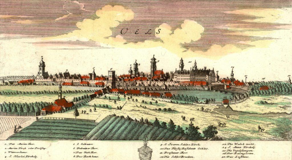 Oleśnica (Oles) - Rok 1737