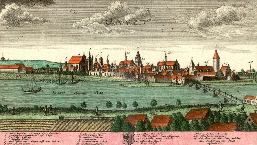 Opole (Oppeln) - Rok 1739