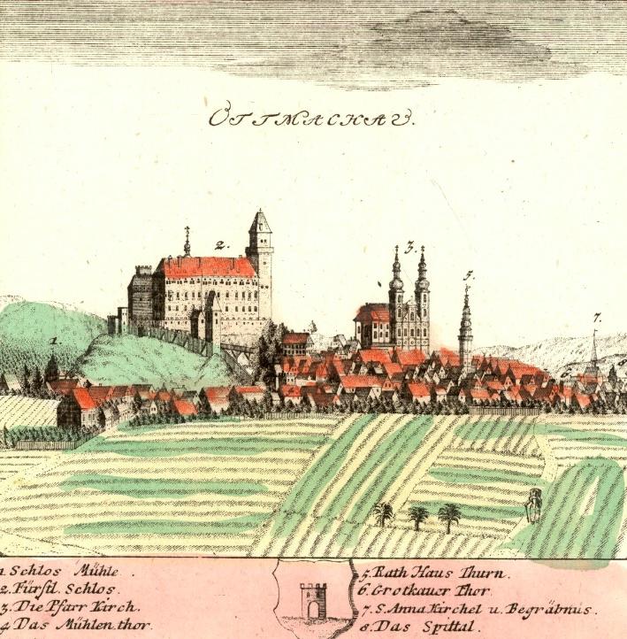 Otmuchów (Ottmachau) - Rok 1738