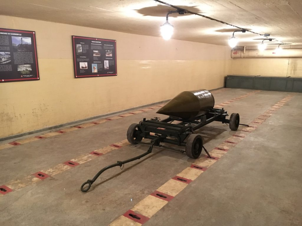 Broń jądrowa była składowana w tych pomieszczeniach