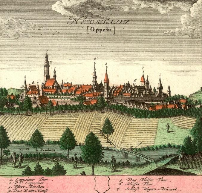 Prudnik (Neustadt) - Rok 1739