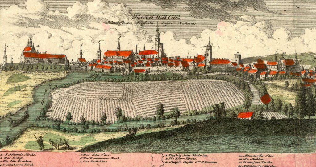 Racibórz (Ratibor) - Rok 1739