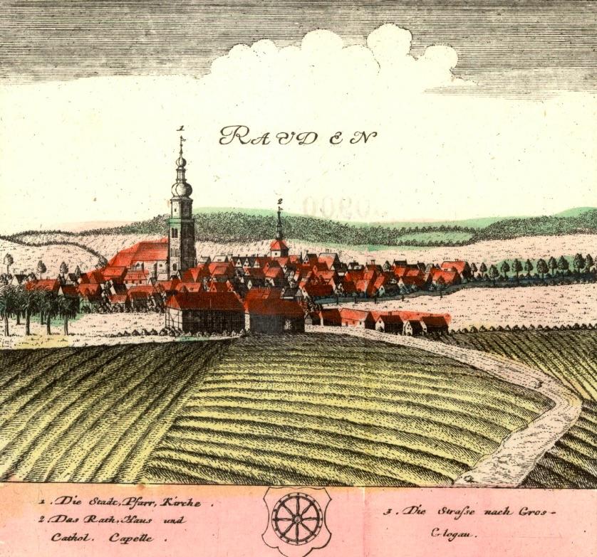 Rudy (Rauden) - Rok 1737